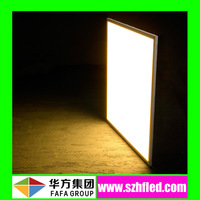 CRI>80 90LM/W energy saving 600x600 flat panel led lighting