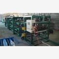 de corte de la máquina de lana de roca panel de emparedado de la máquina línea de productos