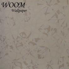 Modern style simple Non-Woven flocking 3d stone wallpaper stone design