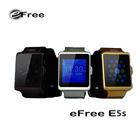 New eFree E5s fashion HD IPS screen mtk 6250 smart watch phone
