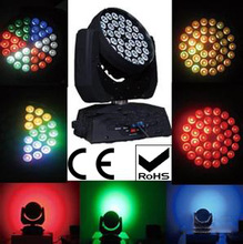 Hot!!! quiet 36 rgbw 10W led wash led moving head lights/lled mini moving head manual