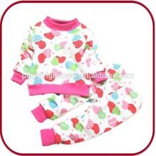 winter warm skin cared organic cotton newborn baby clothings PGGD-0582