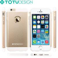 TOTU 2015 Fashion Design Full Protective PC+Aluminum for iphone 6 plus case