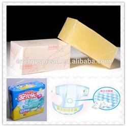 Fast Curing Sticky Hot Melt Pressure Sensitive For Diaper