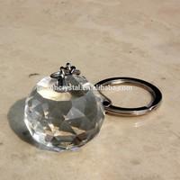 Crystal Ball Sphere Key Ring MH-YS0373