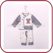 Yiwu factory clothing organic cotton baby clothing PGGD-1919
