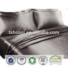 Silky Soft Satin Sheet Set, stripe jacquard, 4pcs