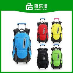 School Travel Rolling Trolley Backpack