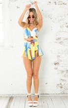 2014 Summer Floral Print Latest Women Wholesale Boutique Clothing