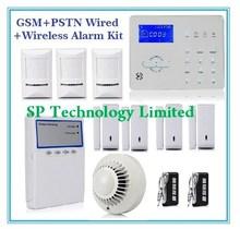 SMS Alarm Alert, Alarm System With LCD, Wireless Burglar Alarm System