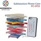 For 2D Sublimation iphone 5 Plastic Case