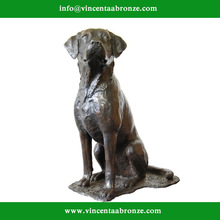 2015 new design garden decoration zen dog statue