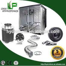 Filtro de carbón de conductos de kit de cultivo hidropónico / ventilación / sistema de ventilación de aire