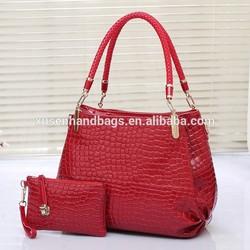 Korean fashion pu women leather bag,trendy designer bags woman,famous designer handbag