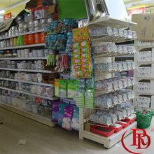 deli showcase supermarket equipment house shape acrylic cake display shelf