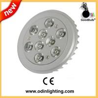 high quality led dimmable gu10 led AR111,12v g53 AR111 led