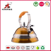 UL certificate colorful painting s/s kettle tea