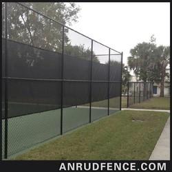 vinyl outdoor dog fence
