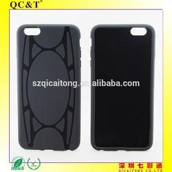 New Gadgets 2015 Soft Gel black colour TPU cellphone Case For ip6g plus 5.5