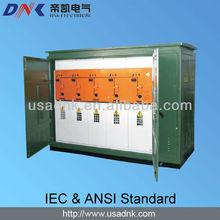 de alta tensión de distribución de material eléctrico