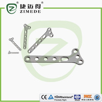 High quality oblique T plates for distal radius locking plate I types of orthopedic plates