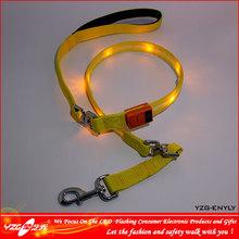 Charm waterproof light up led dog leash