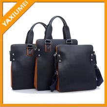 Good quality men handbag leather bag