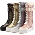 2015 novo estilo de alta qualidade e favrab outono / inverno da moda Martin botas Geniue botas de combate ao ar livre anti quebrando botas quentes