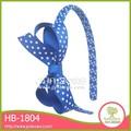 Vender un montón de alta calidad de forma de elástico del pelo hb-1804 broche de joyería