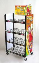 Most popular hot sell mobile food display kiosk