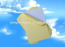 Salable Rigid PVC Sheet for Photo Album Color PVC Sheet Thickness