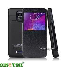 SINOTEK mobile phone battery case 4800mAh portable backup external battery case for galaxy note 4