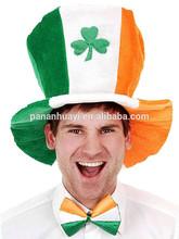 Jumbo Size Green Orange And White Top Hat Irish St Patricks Day Parties Costume