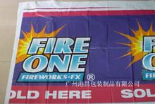 Festival feliz plastic publicidade purdah, Rolls, Sacos para fogos de artifício