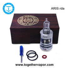 china wholesale e cigarette clone aris rda with the best quality & pricing aris rebuildable dripper atomizer