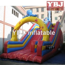 2015 New Design giant octopus Inflatable Slide for sale