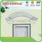 Factory price! Euro-design! DIY polycarbonate aluminium outdoor canopy