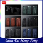 Luxury croco pattern real leather protective cases for iPhone 6 4.7 inch different colors wholesale and retail