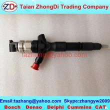 Toyota original common rail injector 295050-0180 HILUX 23670-0L090