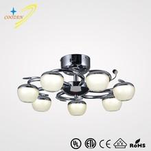 GZ30011-7C European style LED energy saving light source ceiling pendant lamp