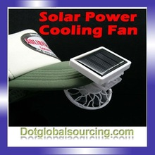 High quality white color mini Solar Power Air Cooling Fan
