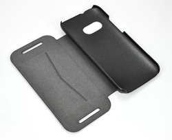 Factory hot-sell wood leather leather gun case for HTC M8 mini