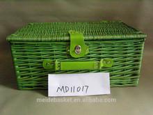 2014new hot sale wicker bulk picnic baskets wholesale