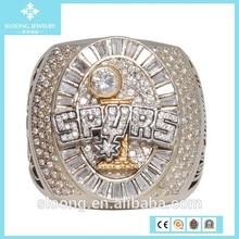 Spurs 2005 San Antonio Championship Ring, Basketball World Championship Ring Custom Championship Ring
