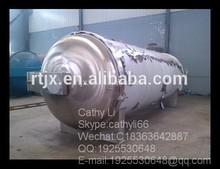 Horizontal high pressure steam sterilizer