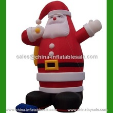 2015Guangzhou China popular inflatable christmas fat santa (H9-0027)
