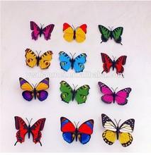 2015 fashion design butterfly fridge magnet, souvenir fridge magnet wholesale