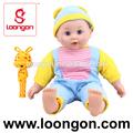 loongon 16 pulgadas de juguete de la muñeca con bell boy baby doll juguete