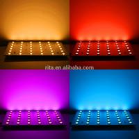 NEW 5050 SMD 4-in-1 RGBW(6500K) panel light;15cm*15cm size;6*6 leds;DC24V input