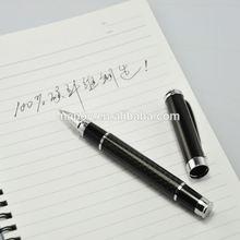 Hot new ideas 2015 slim carbon fiber custom pantone gel ink pen for office supply